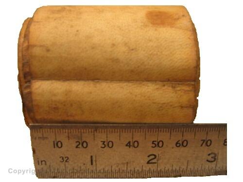 Miniature Scroll of Esther written on sheep skin