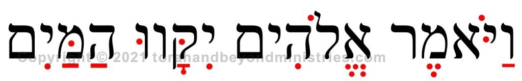 Hebrew vowel points are added to the original Biblical text to help in pronunciation