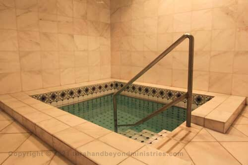 The Sofer must use a mikvah at least once daily while writing Scrolls