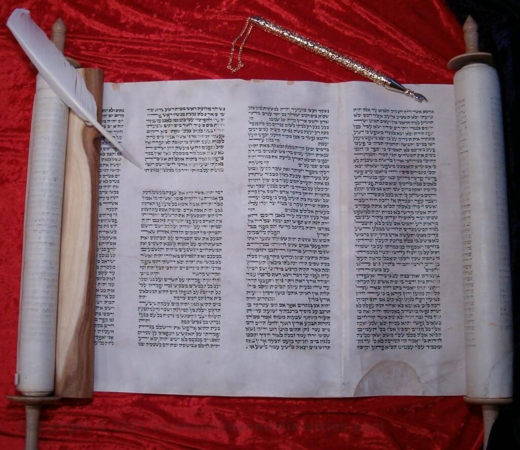 Authentic Hebrew Habakkuk Scroll of 12 Prophets