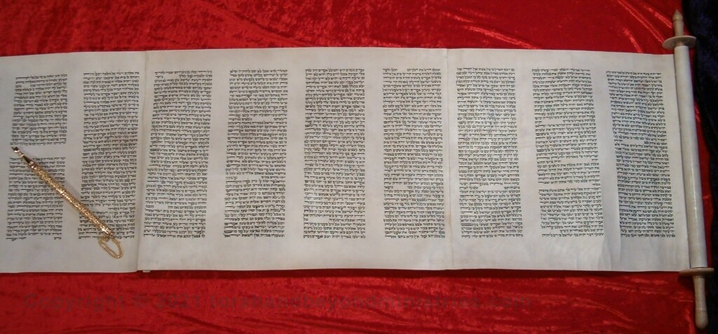 Authentic Hebrew Hosea Scroll of 12 Prophets