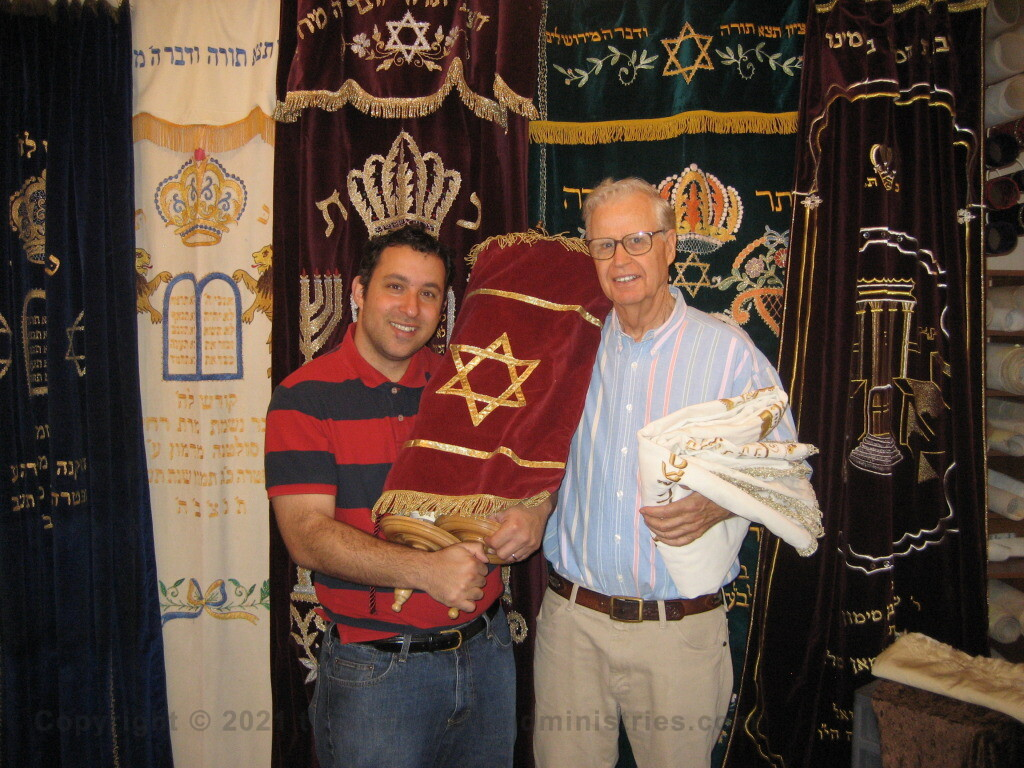 Providing a Torah Scroll to a Messianic Synagogue in Dallas