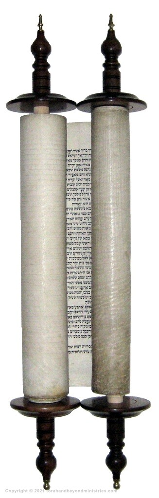 Authentic Hebrew Scroll of Kings