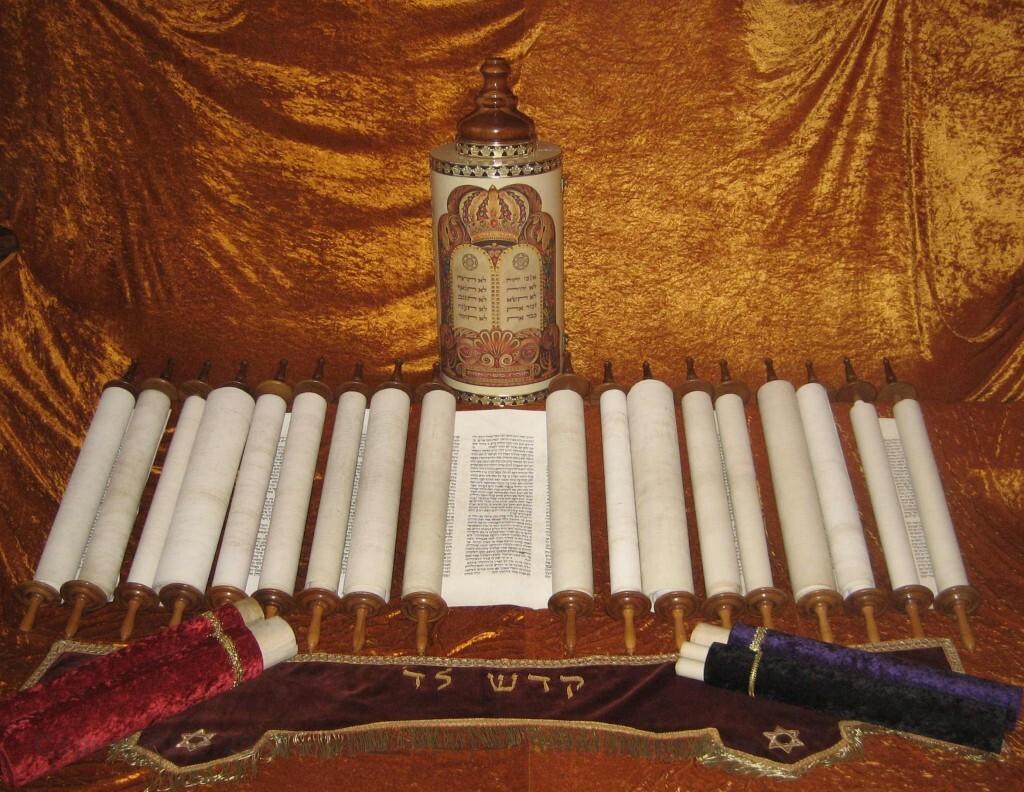 Hebrew Scroll exhibit First Baptist Church Katy, Texas - Torah, Prophets, Megillot
