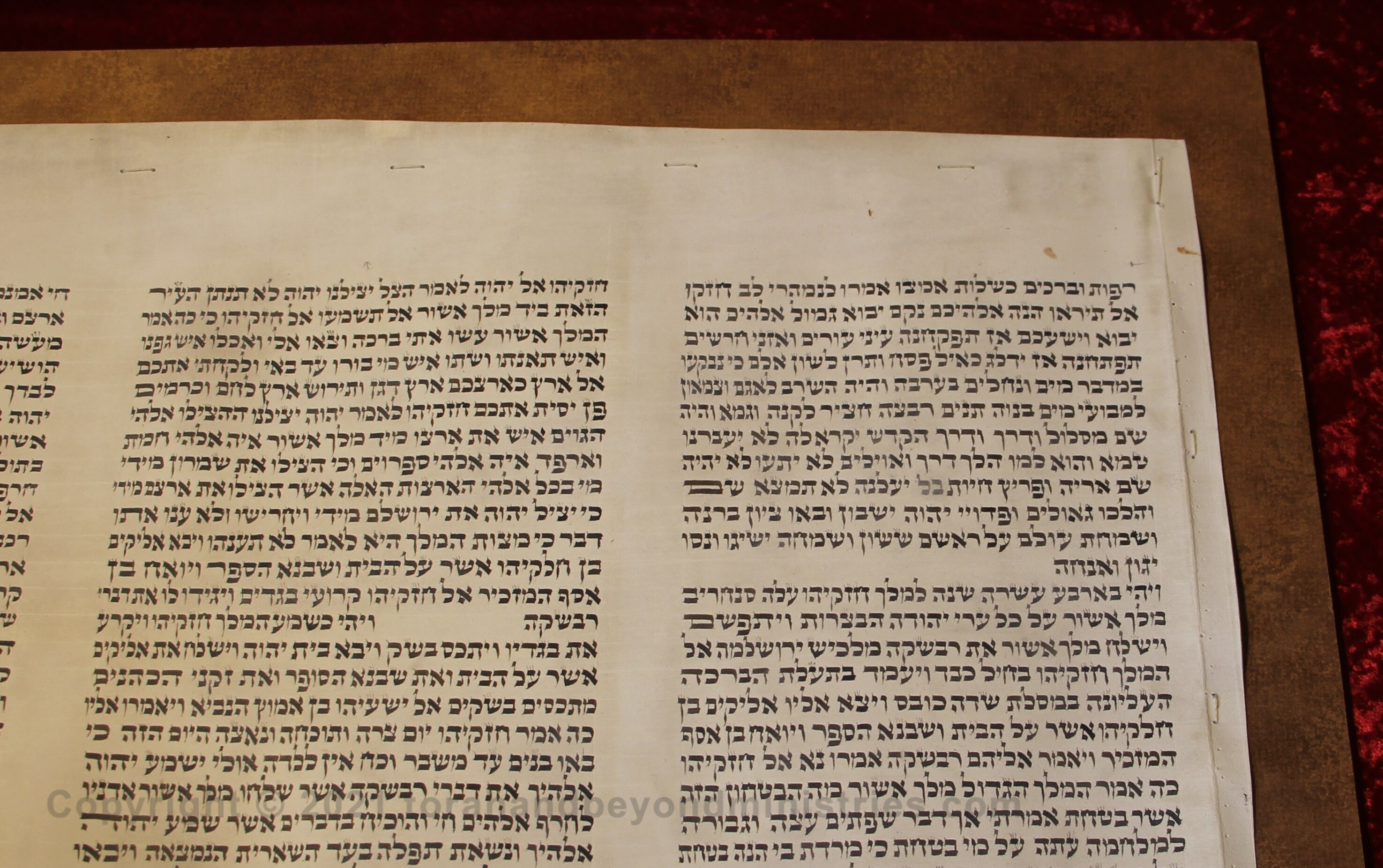 Isaiah Scroll shows the proof the Messiah must show
