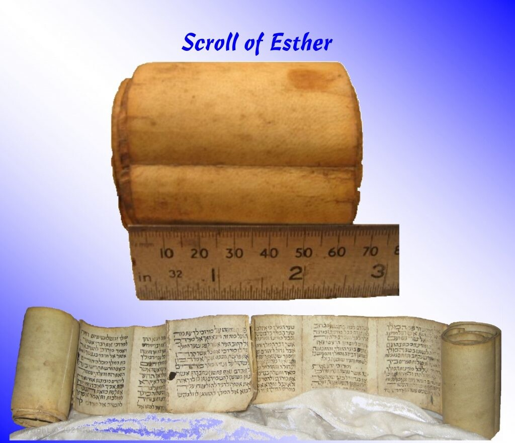 Miniature Scroll of Esther
