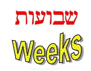 Feast of Weeks Hebrew Jewish clip art
