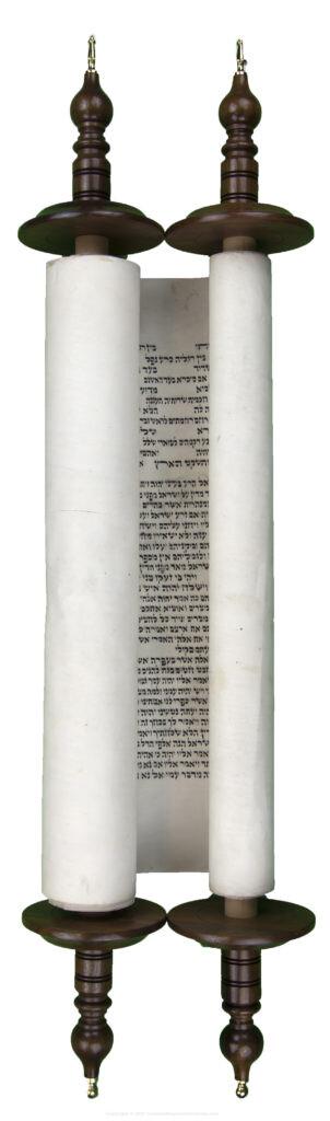 Hebrew Scroll of Judges written in Lithuania